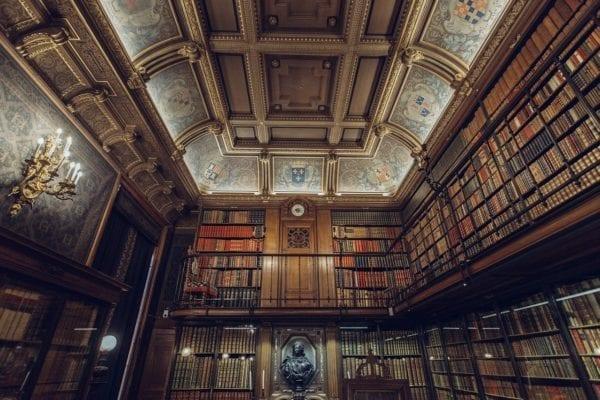 library, books, literature